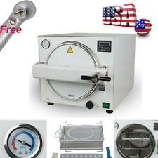 18L Dental Autoclave Steam Sterilizer Medical sterilization with 3 Plates Shelf