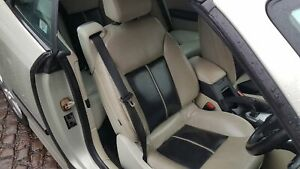 SAAB 9-3 CABRIOLET CONVERTIBLE 2003 - 07 RH DRIVERS FRONT SEATBELT ELECTRIC SEAT