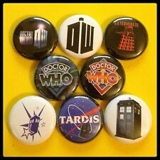 "Dr. Who 1"" buttons badges Tardis Space Time Travel"