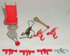 Vintage Tyco Dino Riders Toy Figure Vehicle Parts Lot Accessories For Sets