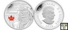 2012 'Tecumseh - Heroes of 1812' Proof $4 Silver Coin .9999 Fine (13070) (NT)