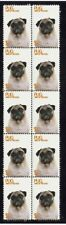 PUG YEAR OF THE DOG STRIP OF 10 MINT STAMPS 3