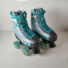 No Fear Light Up Roller Skates Ice Lolly Pattern Size Childrens 12 UK