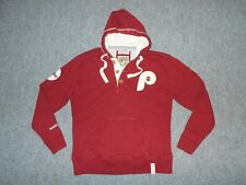 MITCHELL & NESS COOPERSTOWN MLB PHILIES MENS XL RETRO HOODIE                  Z2