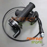 Handle Grips Throttle Cable For Taotao Apollo SSR CRF50 XR50 125cc Dirt Pit Bike