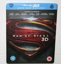 Man Of Steel 3D - Blu Ray,Steelbook - 2-Disc Set  (Digital Code Not Included)