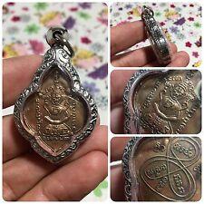 Beautiful Magic Mini Yant Sacred Thai Buddha Amulet Pendant Luck Rich Protect.