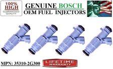 YRS 2010-2012 Kia Forte 2.4L I4 Rebuilt x4 #35310-2G300 OEM Bosch Fuel Injectors