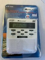 Midland Weather Radio WR-100 Public Alert NOAA Emergency BroadcastNew Sealed