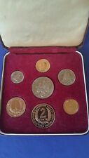 1955 British Caribbean Territory Proof Set 7 Coins in CaseOnly 2000 minted