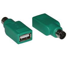 USB femmina a maschio ps/2 Topi Mouse Tastiera Convertitore Connettore Adattatore md6 PC