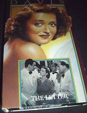 The Letter (VHS) Bette Davis