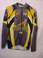 VTG LONG SLEEVE CYCLING JERSEY - EASTSIDE CYCLES PETALUMA CA - MEN'S MEDIUM