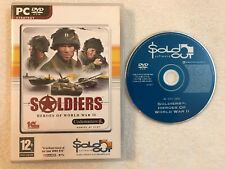 Soldiers: Heroes of World War II 2 - Windows PC - SoldOut - DVD-ROM