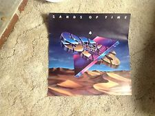 2-Sided S.O.S. BAND Promo POSTER 12x12. Collectibles Cd LP vintage music!!.
