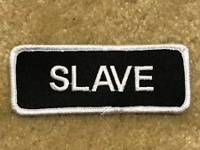 SLAVE MOTORCYCLE PATCH---002
