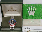 Scarce Rolex GMT Master Matte Dial 1675 Steel Mens Vintage Watch Box Papers