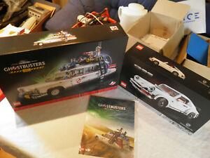 LEGO PAKET 10274 Ghostbusters Ecto-1, 10295 Porsche 911, NEU UND OVP!!!