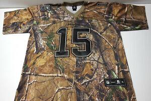 REEBOK NFL Football Denver Broncos TIM TEBOW Jersey XL CAMO RealTree Camouflage