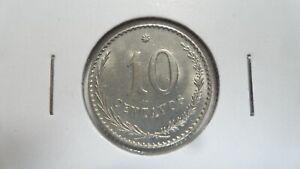 Paraguay 10 Centavos, 1903, UNC