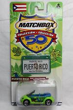 Matchbox 1:64 Scale ACROSS AMERICA BIRTHDAY PUERTO RICO 1995 VOLKSWAGEN CONCEPT