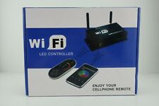 All-Purpose WiFi LED Controller with RF Remote - Multi-zone RGB