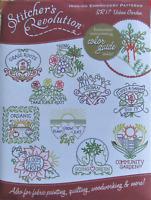 Stitcher's Revolution URBAN GARDEN Gardening Embroidery Transfer Pattern SR17