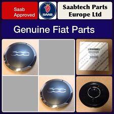 GENUINE FIAT 500 ALLOY WHEEL CENTRE CAP/EMBLEM X2 - BRAND NEW 51884863