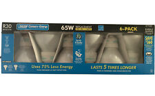 Feit Electric Conserv-Energy 65W R30 Reflector Replacement Bulb 6-Pack