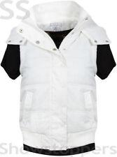 Cappotti e giacche da donna bianchi con bottone automatico taglia 42