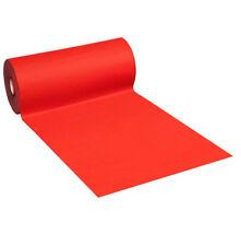 MOQUETTE ROSSA passatoia H100 cm tappeto rosso corsia natale matrimonio chiesa