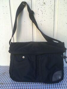 OverLand Equipment Crossbody Messenger Bag.Black