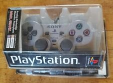 Sony Playstation 1 PS1 Official Gray SCPH-1200 Dual Shock Controller OEM