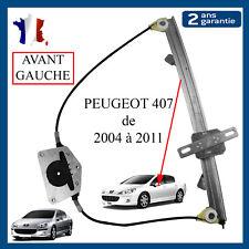 Mecanisme Leve Vitre Avant Gauche Peugeot 407 = 9644893580 9221q6 9221z0 9221z1