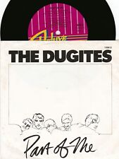 Dugites ORIG OZ PS 45 Part of me NM '81 Deluxe 103812 New wave Pop