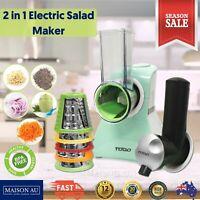 2in1 Shredder Grater Electric Salad Maker Frozen Food Chopper Yoghurt Dessert