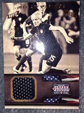 2012 Panini Americana Proof Jersey Megan Rapinoe USA Soccer Olympics 66/99