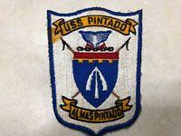 """Vintage US Navy USS Pintado Submarine Patch - 3 3/4"""" x 5"""""""