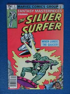 FANTASY MASTERPIECES # 2 - (NM-) -SILVER SURFER - FANTASTIC FOUR -THE SAUCER