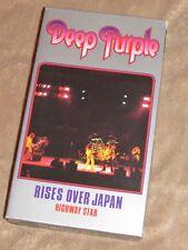 Deep Purple RARE Rises Over Japan VHS whitesnake Glenn Hughes Tommy Bolin live