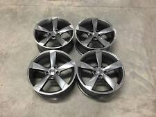 "18"" TTRS Style Wheels - Gun Metal / Machined - Audi / VW / Mercedes 5x112"