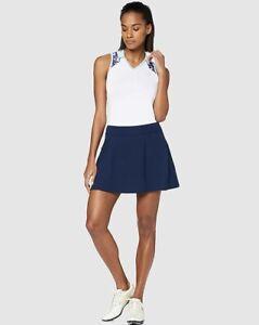 Under Armour Womens XXL UA Links Golf Skort Blue Heatgear Pockets 1326927 $70