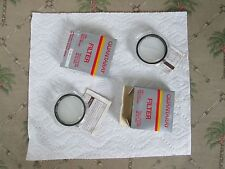 LOT OF 2=Quantaray [Cross Screen+CLOSE UP#2 ]>52mm Lens Filter Made in Japan