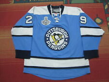 PITTSBURGH PENGUINS JERSEY STANLEY CUP FINAL 2009 MARC ANDRE FLEURY #29