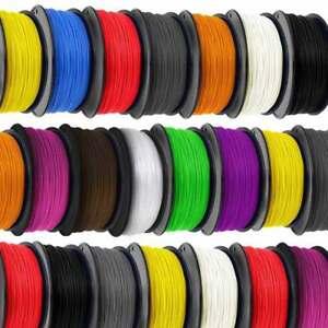 3D PLA Printing Pen Filament 10 1.75mm 8 Colours Available
