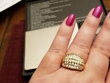 14K Diamond Ring sz 9