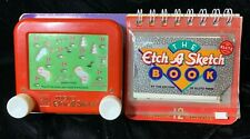 The Etch A Sketch with 12 Game Book - New