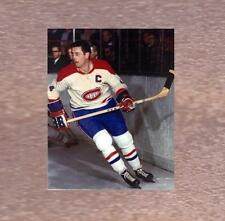JEAN BELIVEAU MONTREAL CANADIENS 8x10 PHOTO MATE IN THE GAME