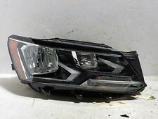 EXCELLENT COMPLETE PASSENGER RH HALOGEN OEM VW PASSAT 2016-2017 16-17 HEADLIGHT