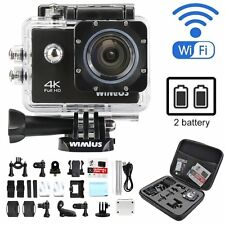 4K HD Action Camera 16MP sports DV wifi Waterproof Wimius dv +for gopro bag Q1